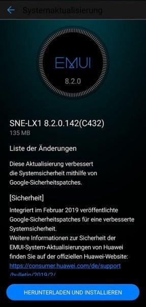 Auch P20 Lite und Mate 20 Lite erhalten neuen Google Sicherheitspatch 2
