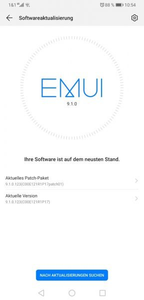 Mate 20 X (China) – 9.1.0.123 – weiteres großes Update 1