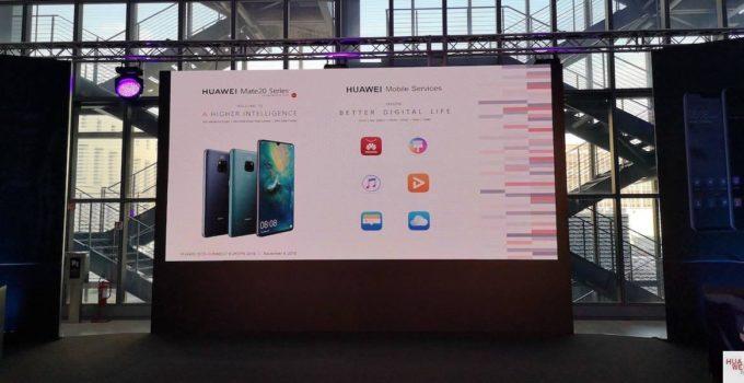 Huawei kündigt neue Mobile Services an