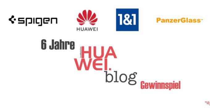 6 Jahre HUAWEI.blog – Mate 20 pro, P20 und noch viel mehr zu gewinnen!