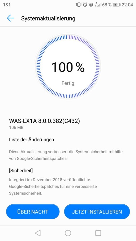 Huawei P10 Lite Firmware Update 382