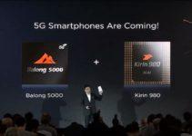 Huawei zeigt faltbares 5G Smartphone beim MWC