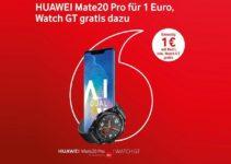 Mate 20 Pro bei Vodafone mit gratis Watch GT