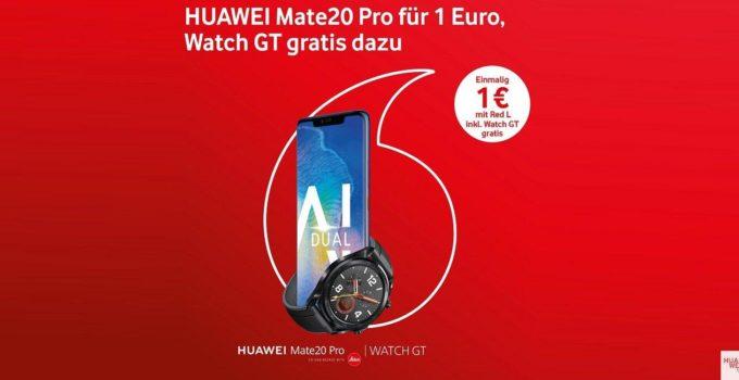 Mate 20 Pro bei Vodafone mit gratis Watch GT 1