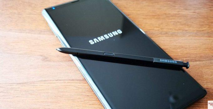 Seitensprung-Report - Meine Zeit mit dem Samsung Galaxy Note 9 1