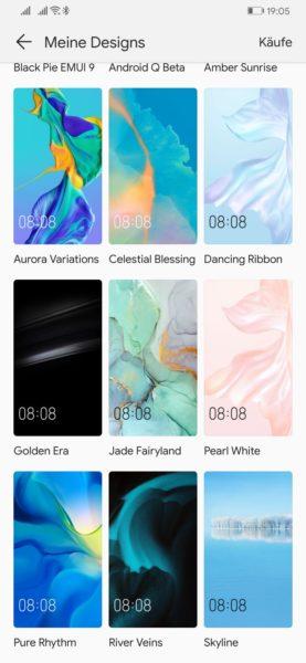 HUAWEI P30 Wallpapers und Themes zum Download - Installationsanleitung! 6