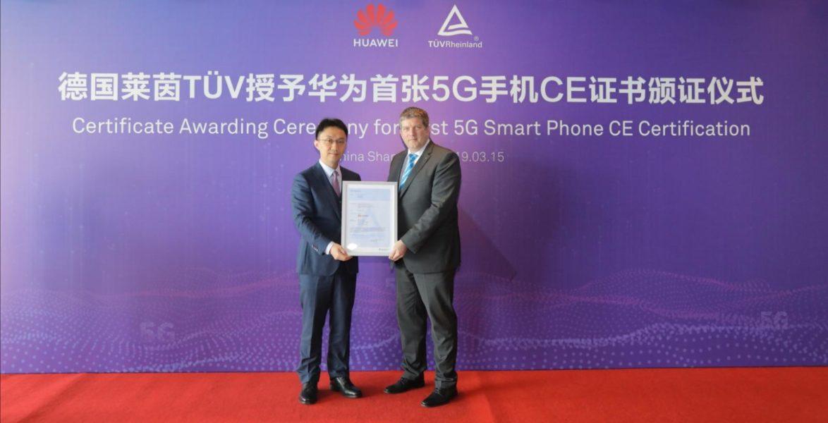 HUAWEI Mate X erhält weltweit erstes 5G-CE-Zertifikat 2