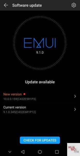HUAWEI Mate 10 Pro EMUI 10
