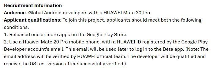 Android Q Beta Test für das HUAWEI Mate 20 Pro verfügbar 1