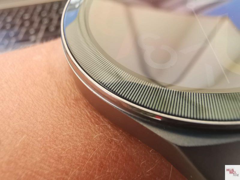 HUAWEI Watch GT2e Test - Lünette