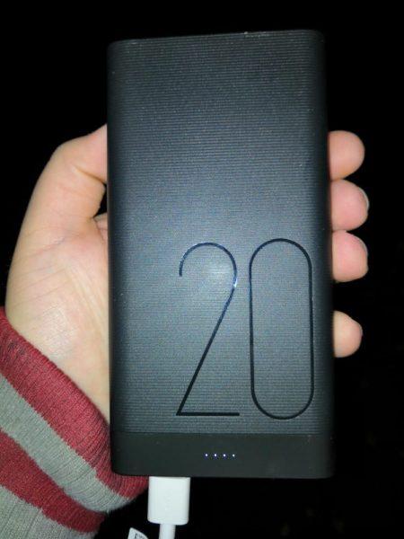 Original Huawei 20.000 mAh QuickCharge Powerbank im Test 2