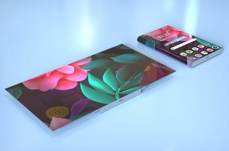 Neue Patente für faltbare Smartphones von HUAWEI 3