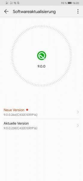 HUAWEI Mate 20 Pro Google Sicherheitspatch Mai Firmware Update