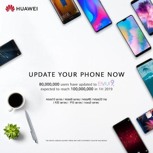 HUAWEI P Smart (2018) und P20 lite bekommen Android 9 mit EMUI 9.1 2