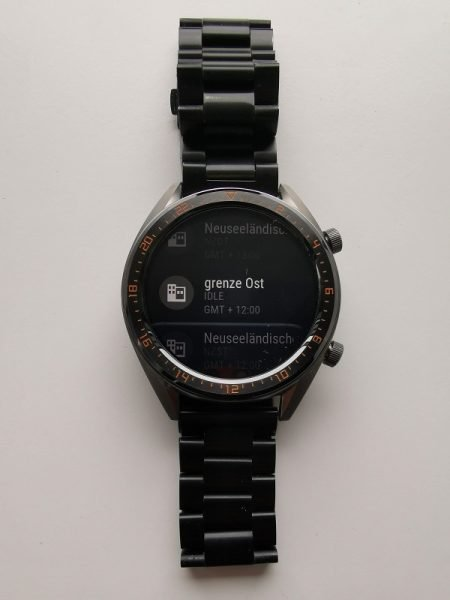 HUAWEI Watch GT Update Zeitzone