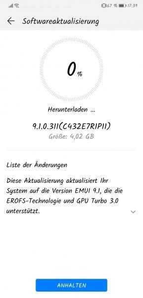 HUAWEI P20 und P20 Pro erhalten EMUI 9.1 3