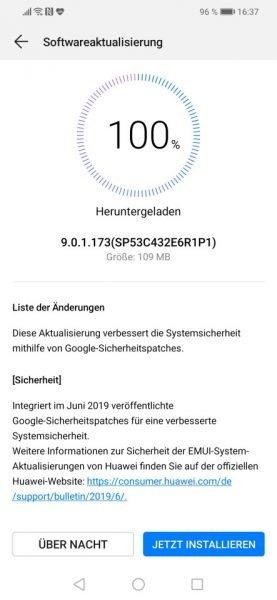 MediaPad M5 10.8 WiFi und Mate 20 Lite – Juni-Patch ist da 1