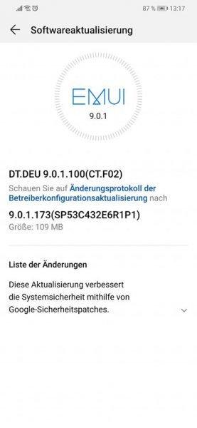 MediaPad M5 10.8 WiFi und Mate 20 Lite – Juni-Patch ist da 2