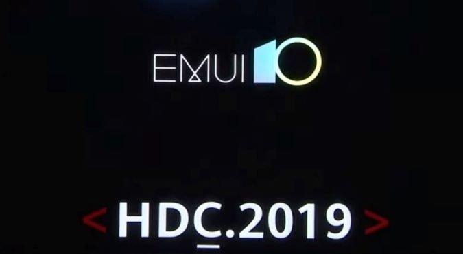 EMUI 10 - HDC.2019