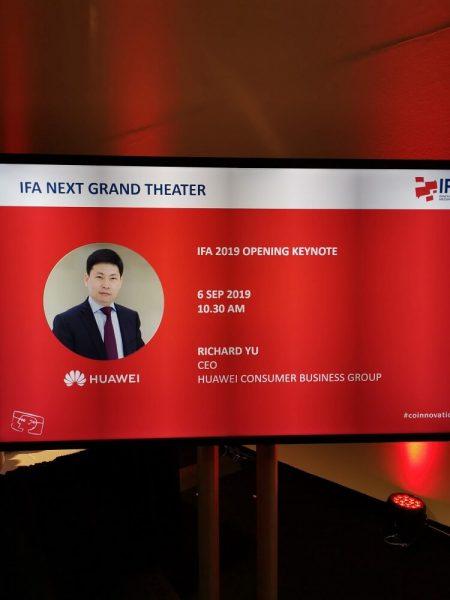 HUAWEI auf der IFA 2019 1