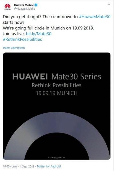 Quo vadis Mate 30, quo vadis HUAWEI? 1