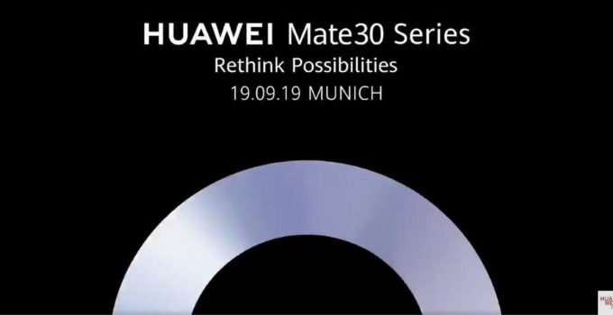 HUAWEI Mate 30 Launch Header