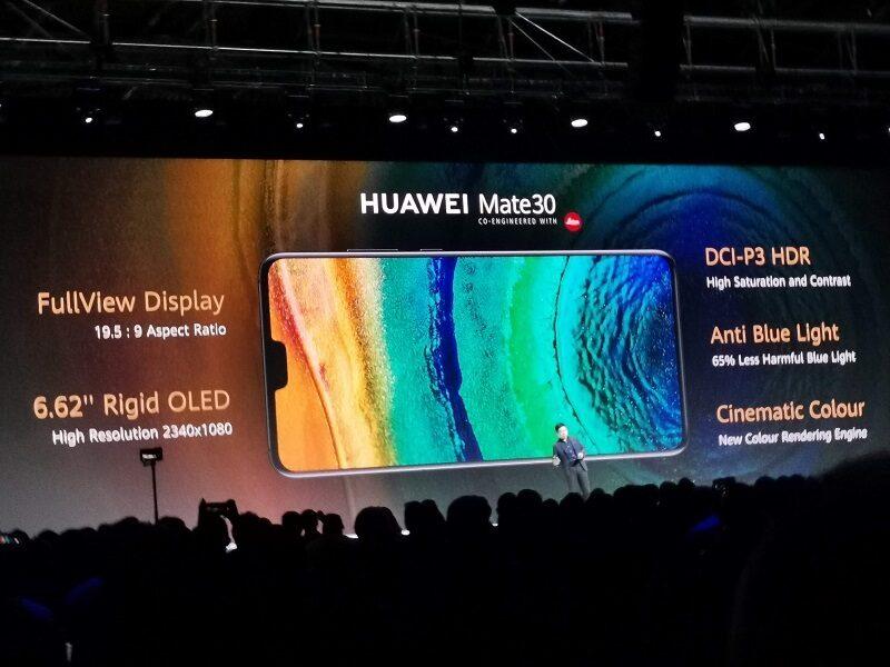 Huawei Mate 30 Display