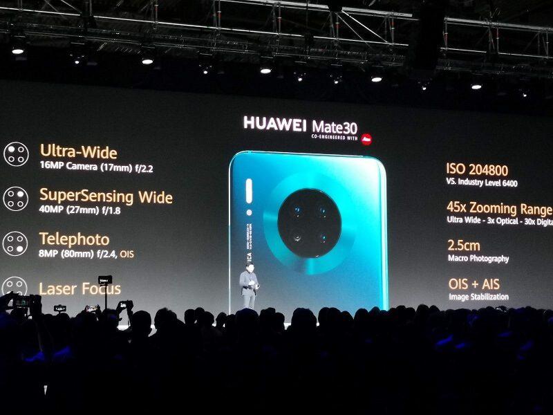 Huawei Mate 30 Kamera