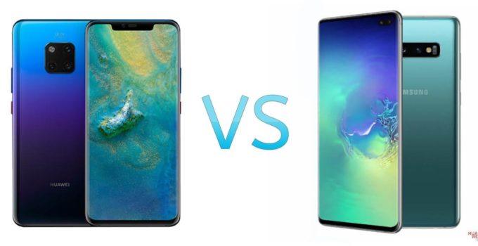 HUAWEI Mate 20 pro vs Samsung Galaxy S10 Plus - Vergleich / Test / Unterschiede