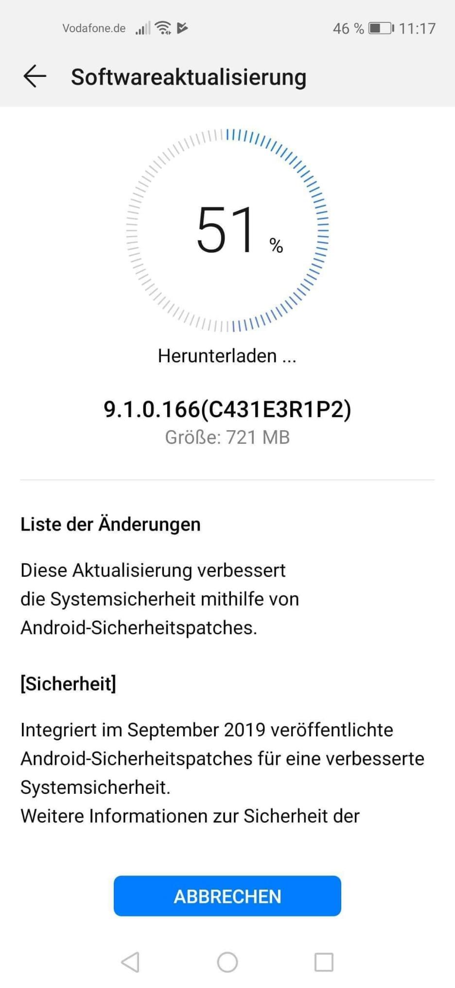 Huawei Nova 5T – erhält September-Patch 1