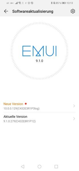 EMUI 10 Beta – Start für das PSmart 2019 – Anmeldung für das P20 Pro 1