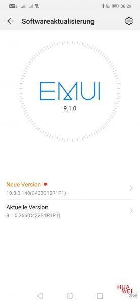 """HUAWEI Mate 20 lite EMUI 10 / Android Q Update """"für alle"""" verfügbar 1"""