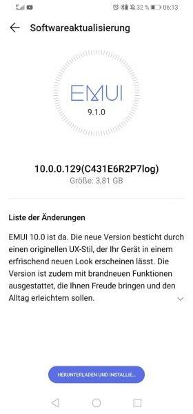 HUAWEI P30 lite - Beta Update zu Android 10 wird verteilt 1
