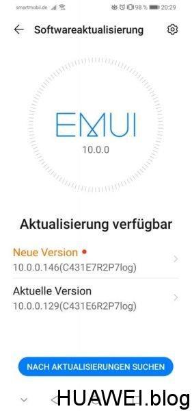 P30 lite (EMUI 10 Beta) erhält Oktober-Patch 1
