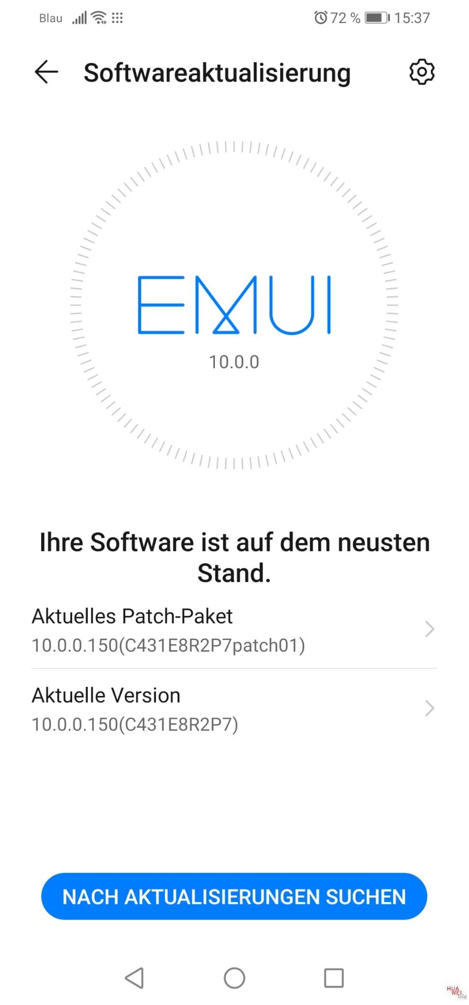 P30 lite - Android/EMUI 10