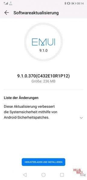 Huawei P20 und Mate 10 Lite erhalten November Sicherheitspatches 1