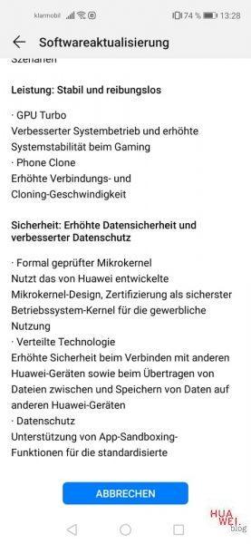 Huawei nova 5T Firmware Update
