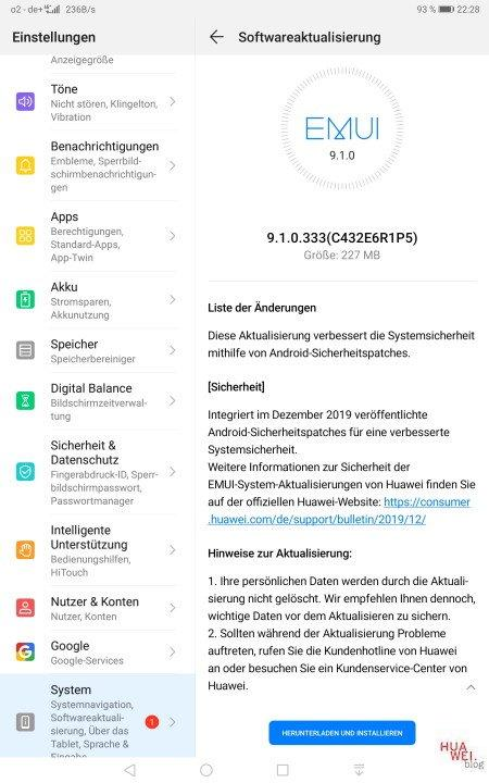 MediaPad M5 10.8 LTE