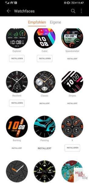 Neue Firmware für die Huawei Watch GT 2 2