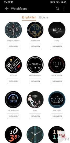 Neue Firmware für die Huawei Watch GT 2 3