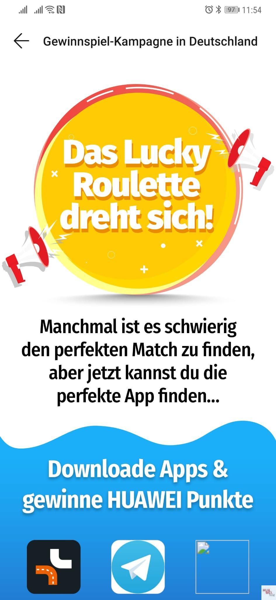 """Huawei veranstaltet AppGallery Gewinnspiel """"Lucky Roulette"""" 3"""