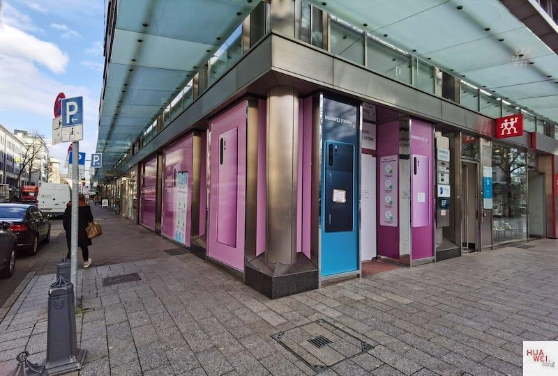 HUAWEI Experience Store Düsseldorf - Eckansicht - Kö