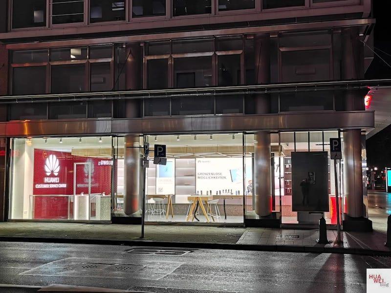 HUAWEI Experience Store Düsseldorf - Seitenansicht