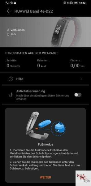 HUAWEI Band 4 und 4e - Fit in den Frühling 10