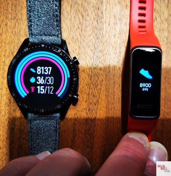 HUAWEI Band 4 und 4e - Fit in den Frühling 3