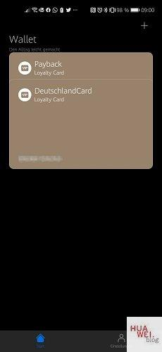 HUAWEI Wallet App