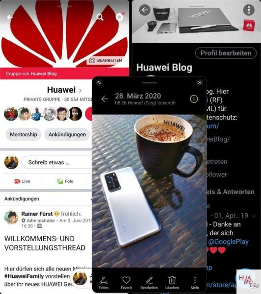 HUAWEI Mate Xs Test Multi Window
