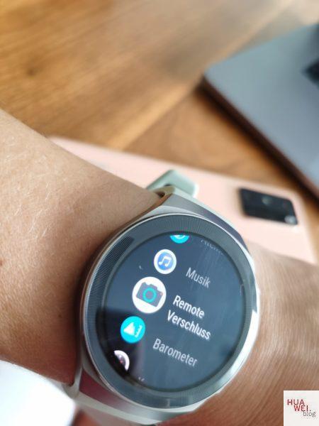 Huawei-Watch-GT2e-Remote-Verschluss-Funktion