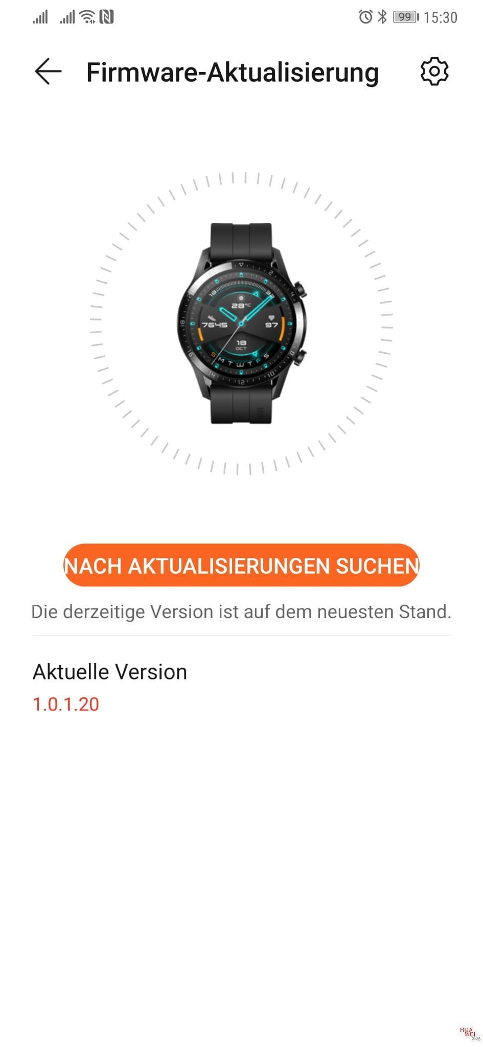 Neues Update für die Watch GT2, Watch GT und Watch GT2e – Nachtrag 3