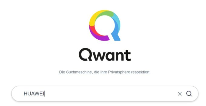 Qwant - HUAWEI - Suchmaschine